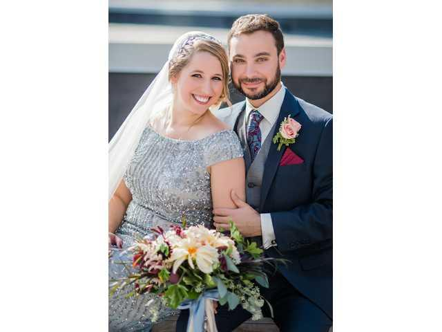 Amanda Schlicher bride of Nathanael Press on Sept. 23