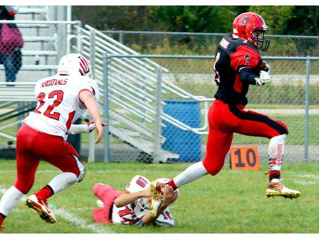 #3 Warriors roll over Highland in Homecoming game