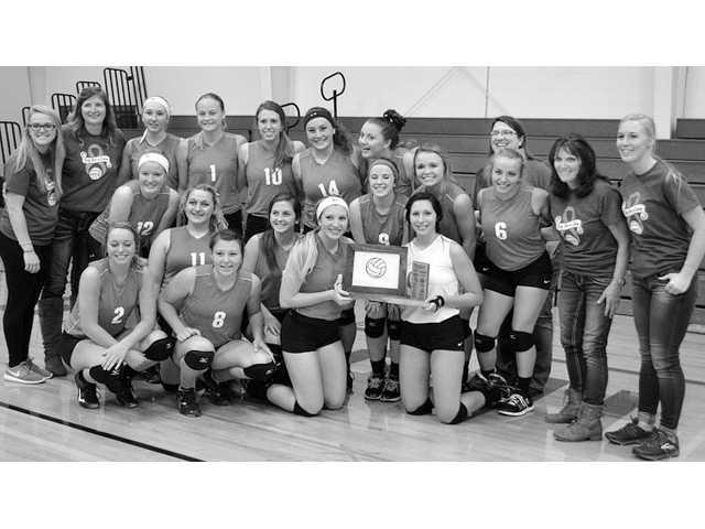 Seneca volleyball three-peats as conference champs!