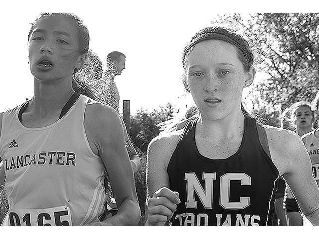 North Crawford's Helen Carstens wins cross country sectional