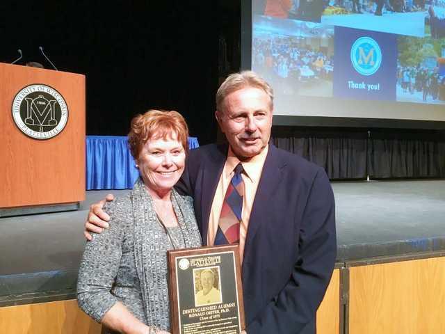 Dieter recognized at UW-Platteville