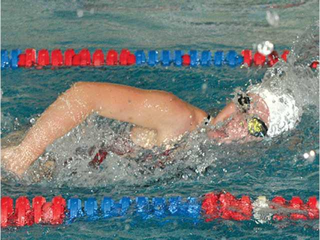 Hillmen swimmers take sixth at conference