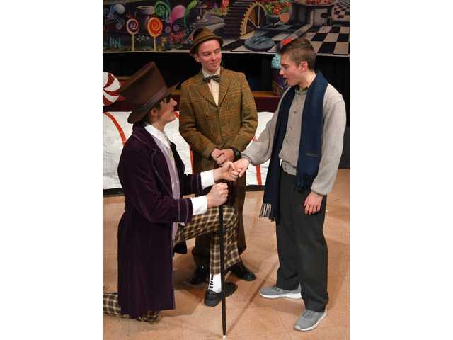 Willy Wonka makes his way to the Fennimore stage