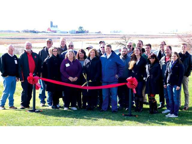 Wind Farm holds a dedication and ribbon cutting