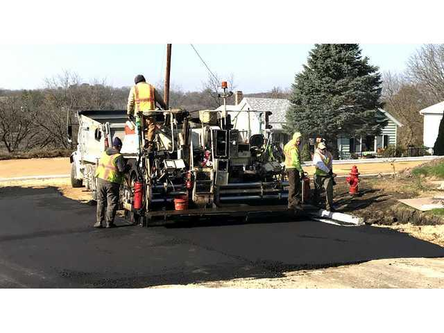 South Wayne's street construction in final phase
