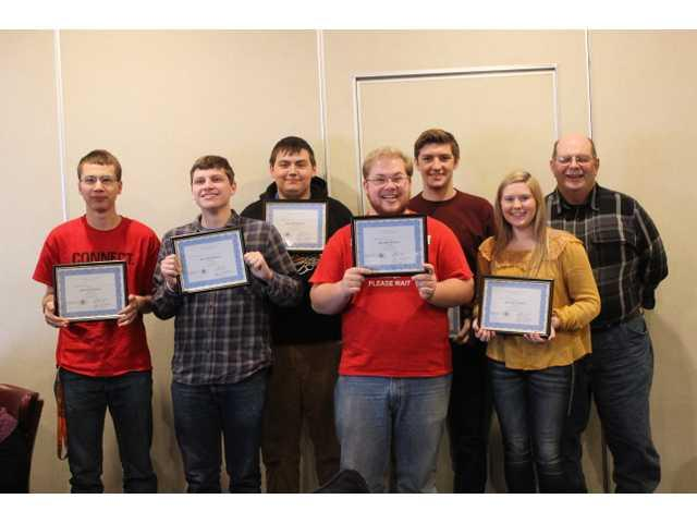 Kiwanis Club names Students of the Month