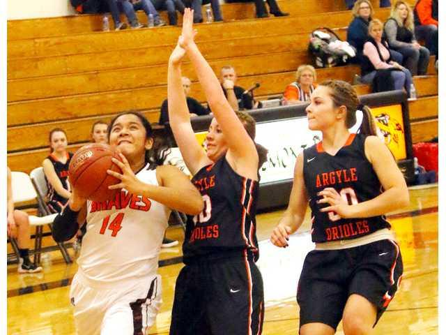 lady braves streak past comets for first win of season
