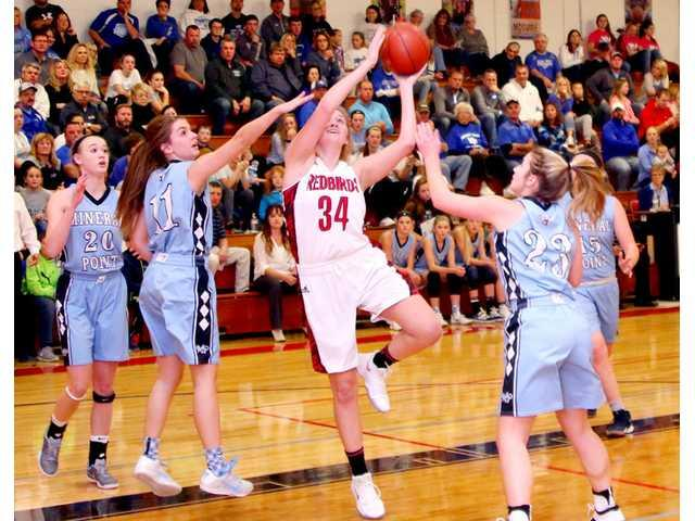 Renewed rivalry goes Lady Redbirds' way
