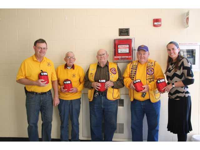 Blood-stopping kits donated to schools