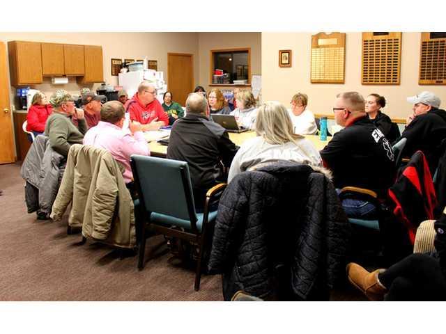 Rural Medical members present proposal to board