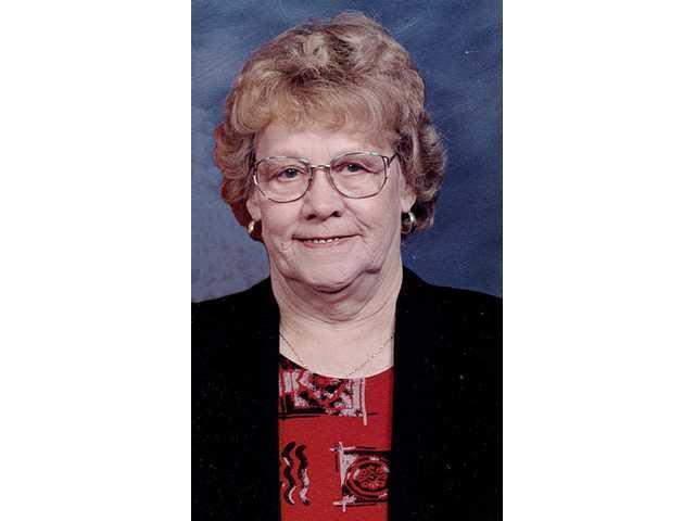 """Doris """"Dory"""" Ann (Fullbright) Pitts"""
