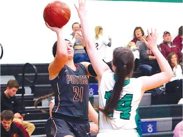 Lady Chieftains survive at Benton, 64–63