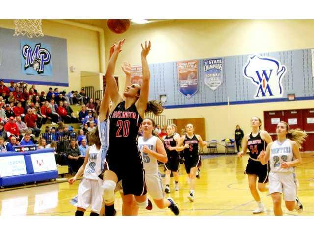 Lady Redbirds rout Pointers to remain atop SWAL