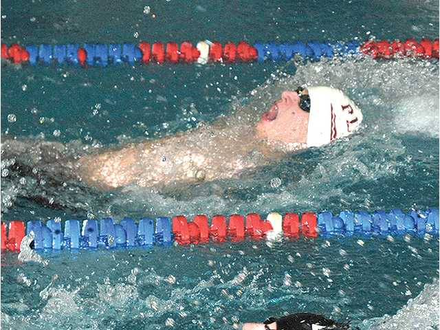 Hillmen swim to fourth place finish at conference meet