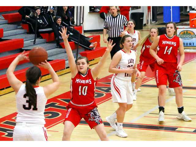 It was a hard week on the hardwood for Lady Miners