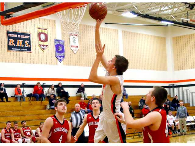 Shullsburg holds off Belmont during a busy week on hardwood
