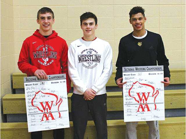 Panther trio headed back to state