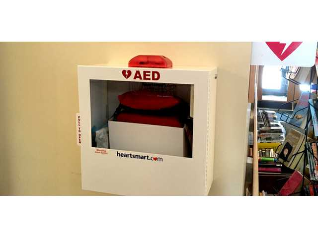 Soldiers Grove Fire Department purchases AED