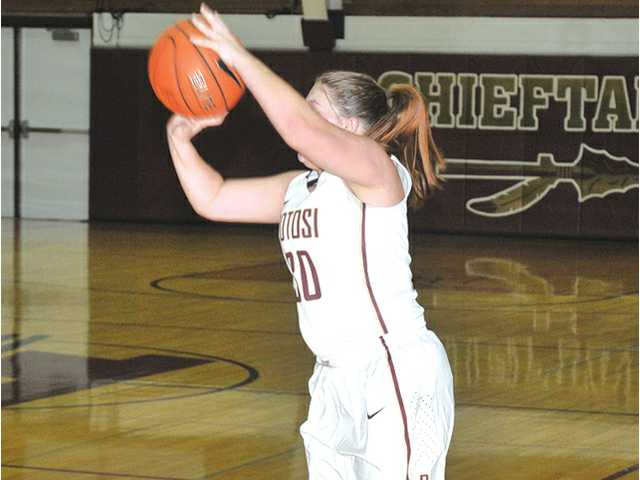 Potosi girls earn a share of West title