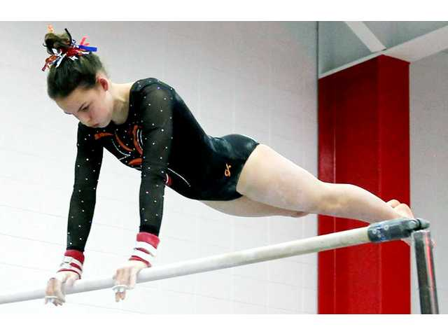 Gymnastics season ends at D2 Mount Horb Sectional