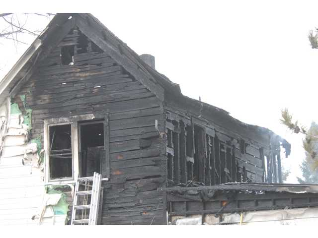 Fire destroys house, four pets perish