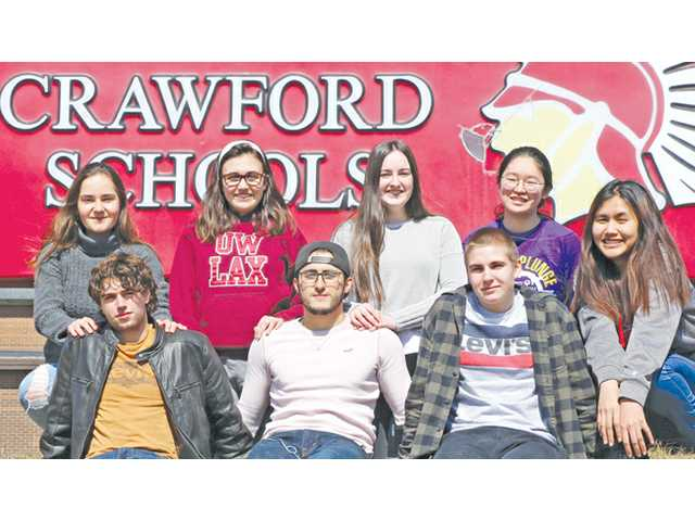 North Crawford exchange students learned a lot while here