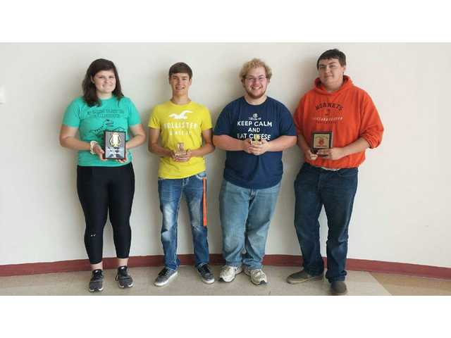 RCHS band members receive special awards