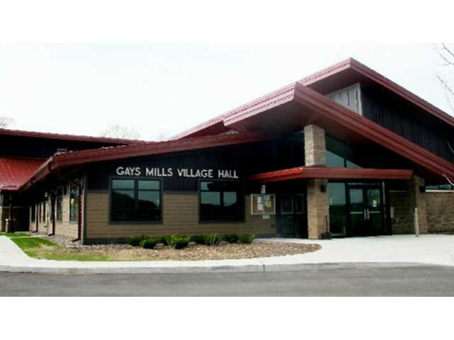 Gays Mills Village Board honors John Johnson's long years of service