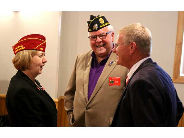 American Legion National Commander honored