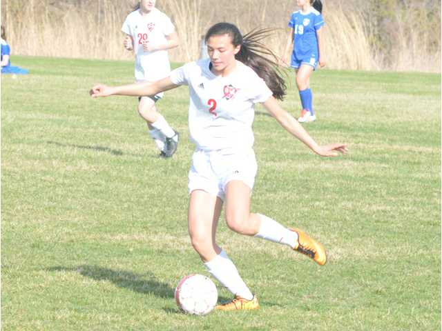 Hillmen girls soccer team wins outright SWC title