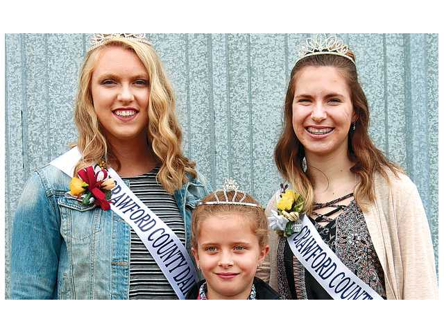 Crawford County's Dairy Royalty crowned at dairy breakfast