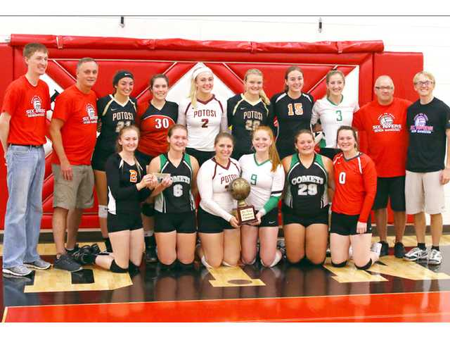 GAME OF THE WEEK (Six Rivers All-Star Volleyball Match): West 4, East 1