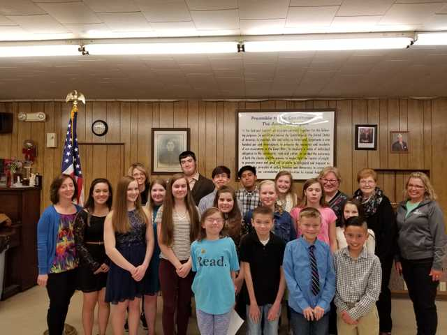 American Legion Auxiliary names essay contest winners