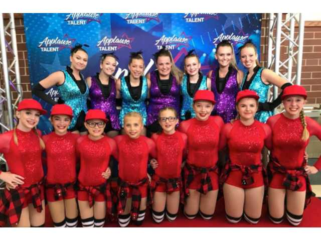 Local girls among dance competition winners
