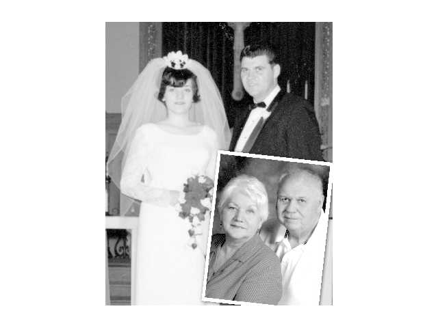 Evans' celebrate 50th wedding anniversary