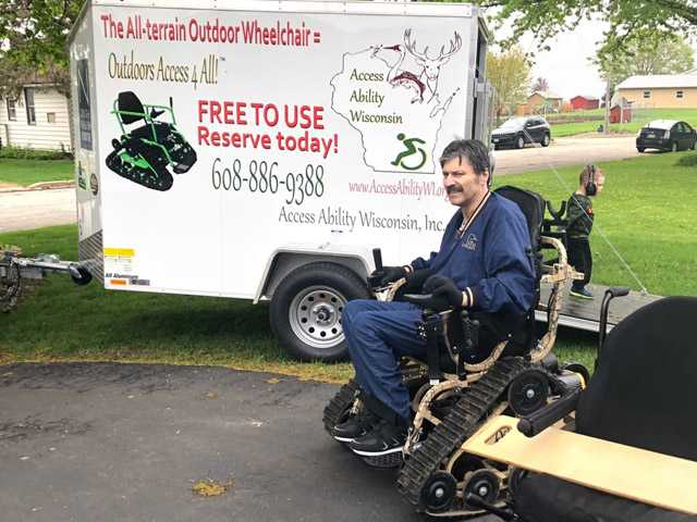 All-Terrain Wheelchair Changes Lives