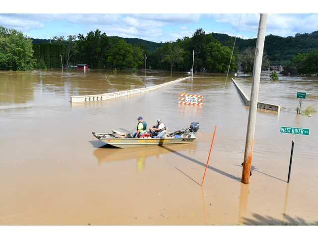 Record flooding devistates area
