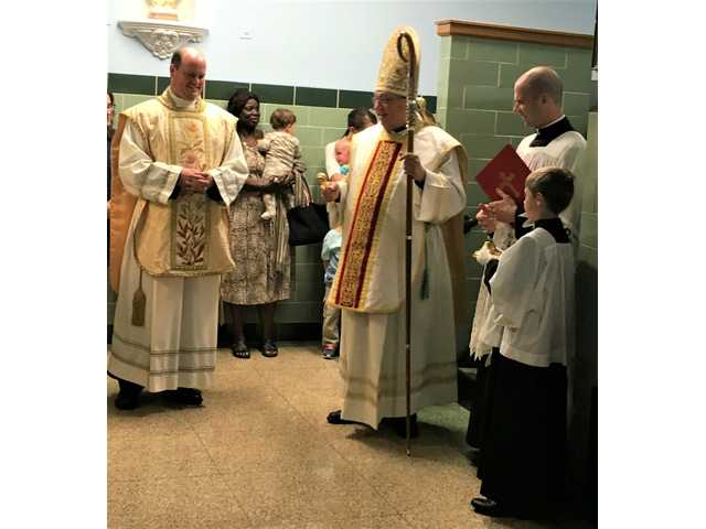 St. Mary School reopens with bishop's blessing