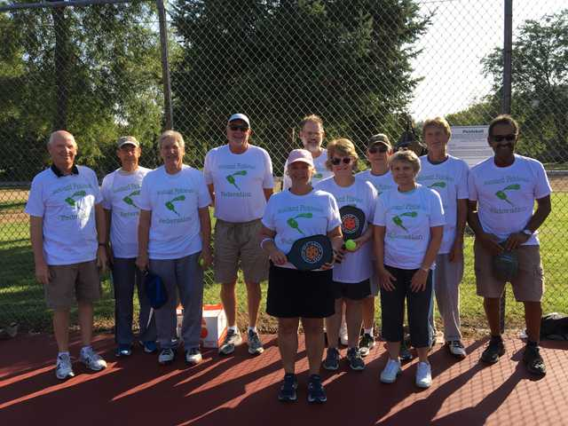 Pickle ball team eager for new members