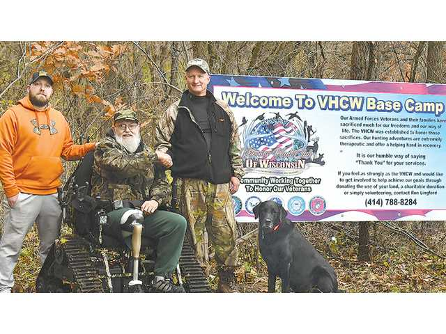 Veteran's Hunt Club of Wisconsin provides opportunities for vets to experience hunt