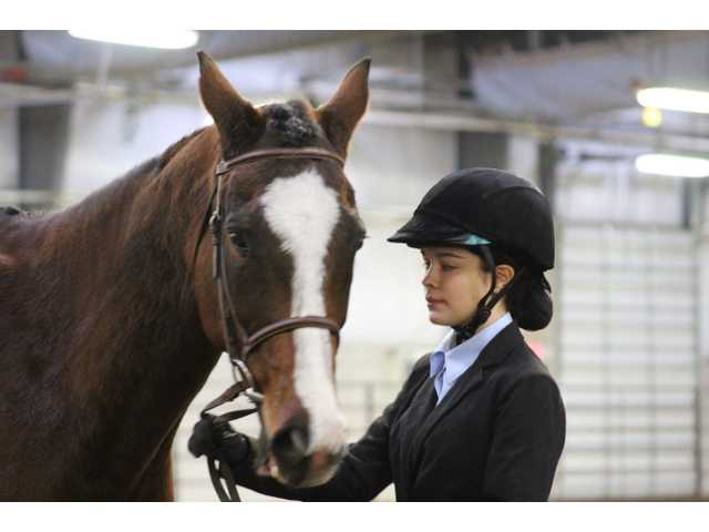 Equestrian teams compete at State WIHA