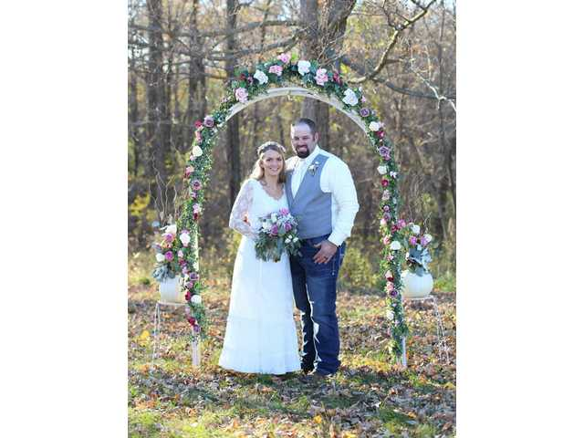 Krystal Butson bride of  Anthony Steinbach on Oct. 20