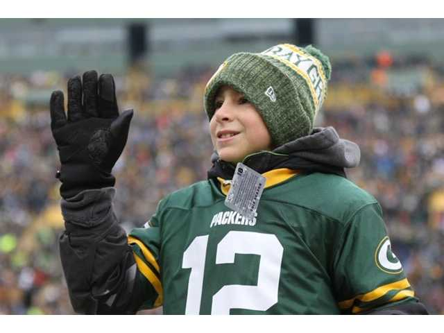 Jaxon Louis named 'Kickoff Kid' for Packers' December 30 game