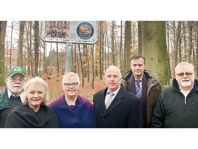 Moran family group visits WWII crash site