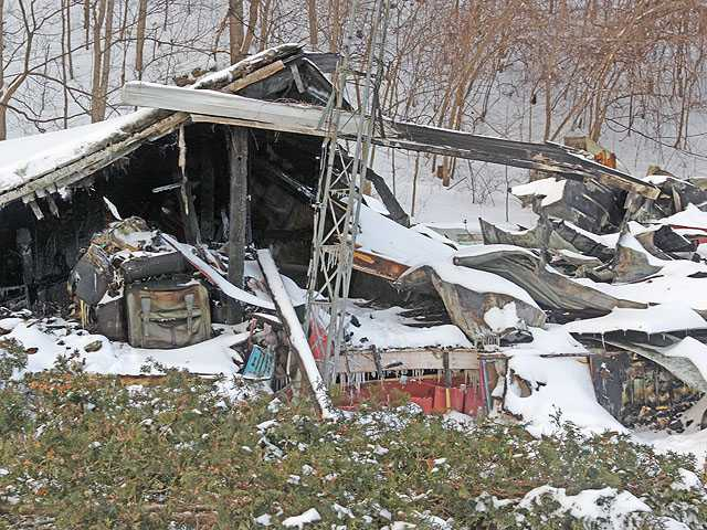 Fatal fires hit area