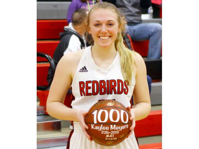 Meyers hits 1,000th point in Darlington win