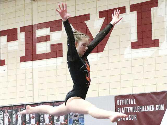 Hillmen gymnastics team qualifies for state