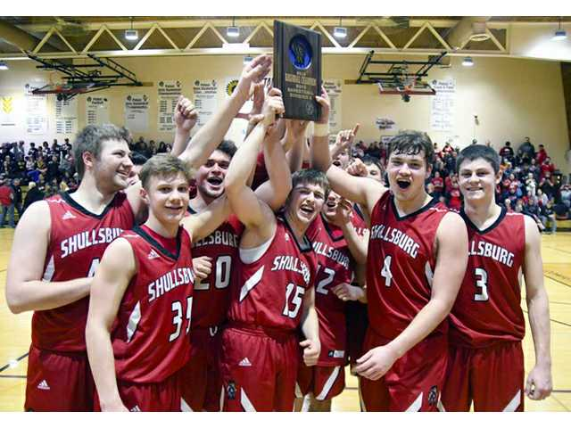 #9 Shullsburg bounces Potosi to capture regional title