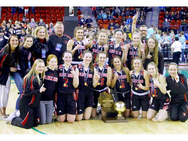 GAME OF THE WEEK (WIAA Girls Basketball D5 State Championship): Black Hawk 51, Clayton 36