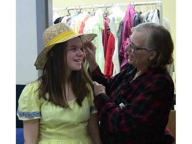 'Show Boat' costumer has her hands full